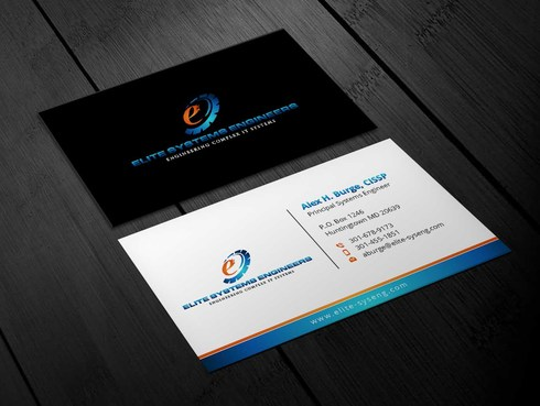 Elite Systems Engineers (EliteSE) Business Cards and Stationery  Draft # 7 by Xpert