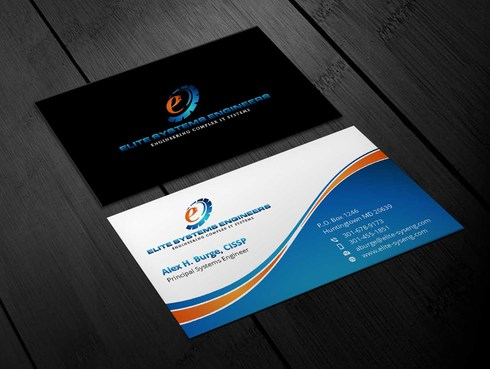 Elite Systems Engineers (EliteSE) Business Cards and Stationery  Draft # 9 by Xpert