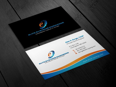 Elite Systems Engineers (EliteSE) Business Cards and Stationery  Draft # 10 by Xpert