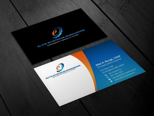 Elite Systems Engineers (EliteSE) Business Cards and Stationery  Draft # 11 by Xpert