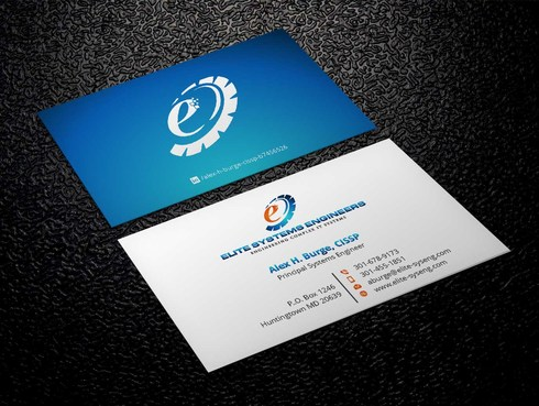 Elite Systems Engineers (EliteSE) Business Cards and Stationery  Draft # 12 by Xpert