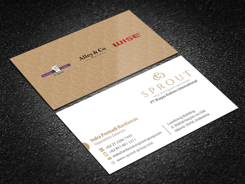 PT Wagas Kuliner International Business Cards and Stationery Winning Design by einsanimation