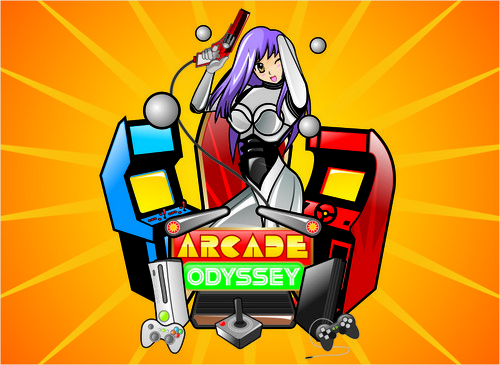 Arcade Odyssey A Logo, Monogram, or Icon  Draft # 234 by vable