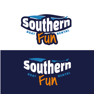 Southern Fun Logo Winning Design by nelly83