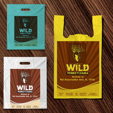 Wild plus Deer Head logo Business Cards and Stationery  Draft # 26 by conceptexplainer
