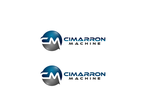Cimarron Machine Logo Winning Design by falconisty