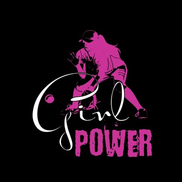 Girl Power Softball TShirt Other  Draft # 30 by sisi5creative