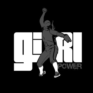 Girl Power Softball TShirt Other  Draft # 53 by sisi5creative