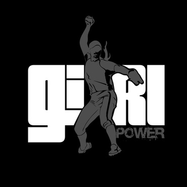 Girl Power Softball TShirt Other  Draft # 54 by sisi5creative