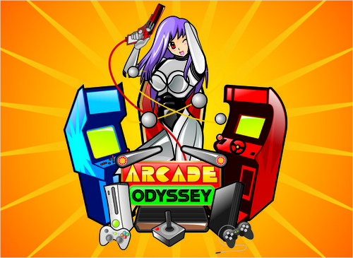 Arcade Odyssey A Logo, Monogram, or Icon  Draft # 280 by vable