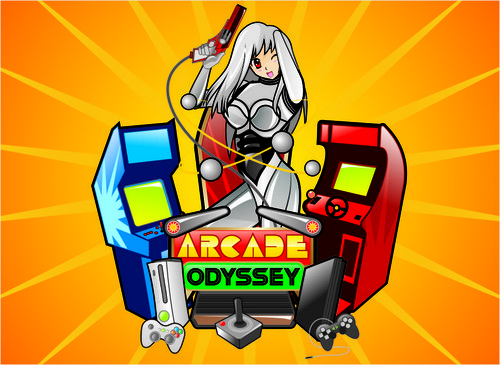 Arcade Odyssey A Logo, Monogram, or Icon  Draft # 310 by vable