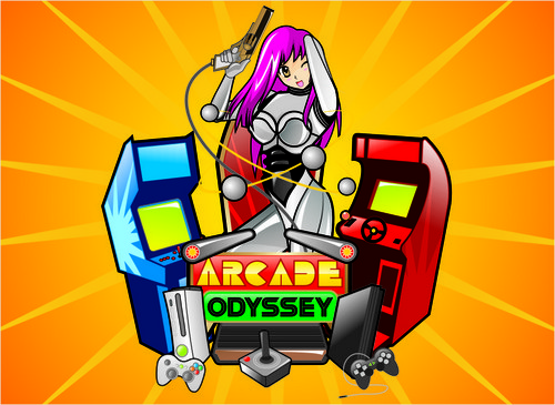 Arcade Odyssey A Logo, Monogram, or Icon  Draft # 311 by vable