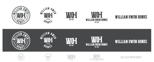 William Owen Homes Logo Winning Design by decentdesign