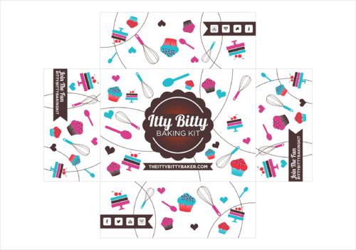 Box design needed for a kids baking subscription box Other  Draft # 4 by thebullet