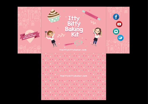 Box design needed for a kids baking subscription box Other  Draft # 10 by Abdul700