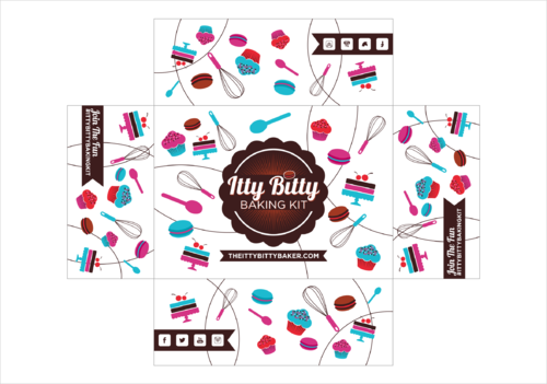 Box design needed for a kids baking subscription box Other Winning Design by thebullet