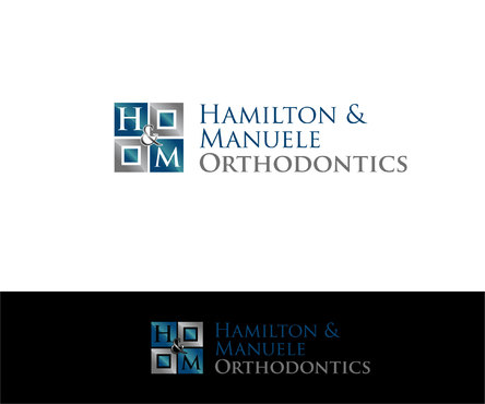 Hamilton & Manuele Orthodontics A Logo, Monogram, or Icon  Draft # 354 by Designeye