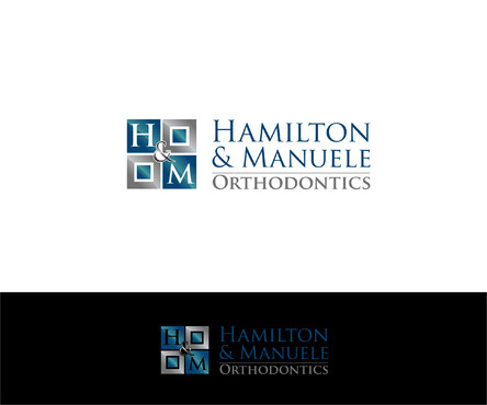 Hamilton & Manuele Orthodontics Logo Winning Design by Designeye