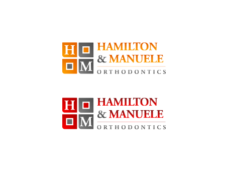 Hamilton & Manuele Orthodontics A Logo, Monogram, or Icon  Draft # 467 by falconisty