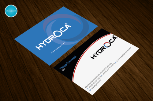 HYDROCA Business Cards and Stationery  Draft # 78 by aheadpoint