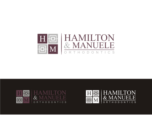 Hamilton & Manuele Orthodontics A Logo, Monogram, or Icon  Draft # 525 by javavu