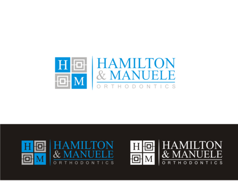 Hamilton & Manuele Orthodontics A Logo, Monogram, or Icon  Draft # 526 by javavu