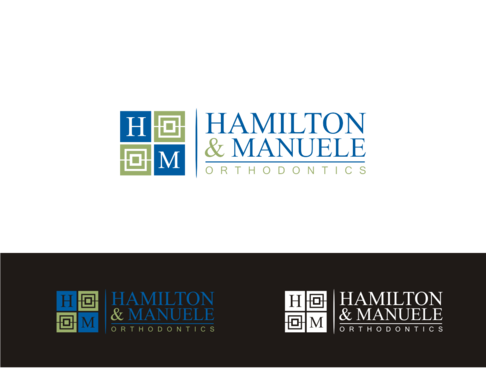 Hamilton & Manuele Orthodontics A Logo, Monogram, or Icon  Draft # 527 by javavu