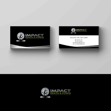 Impact Health & Fitness Business Cards and Stationery  Draft # 156 by G234TD4Y