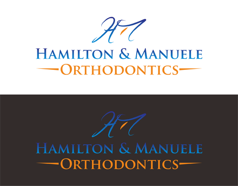 Hamilton & Manuele Orthodontics A Logo, Monogram, or Icon  Draft # 554 by Kenzie15