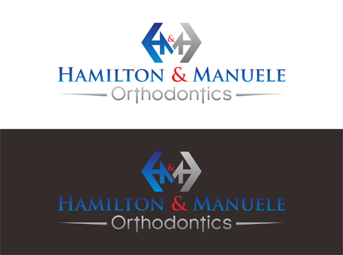 Hamilton & Manuele Orthodontics A Logo, Monogram, or Icon  Draft # 555 by Kenzie15