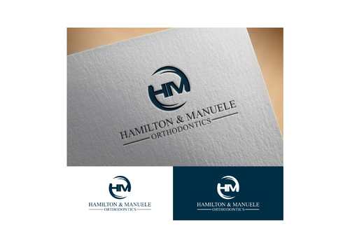 Hamilton & Manuele Orthodontics A Logo, Monogram, or Icon  Draft # 556 by mugensusano