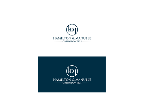 Hamilton & Manuele Orthodontics A Logo, Monogram, or Icon  Draft # 557 by mugensusano