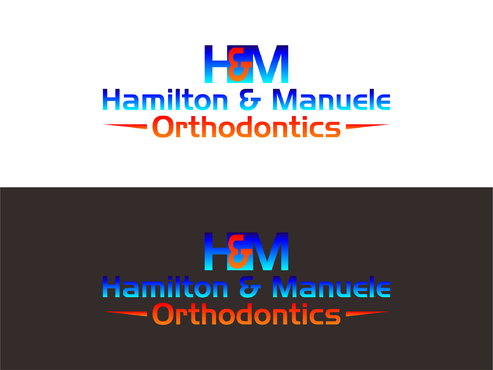 Hamilton & Manuele Orthodontics A Logo, Monogram, or Icon  Draft # 558 by Kenzie15