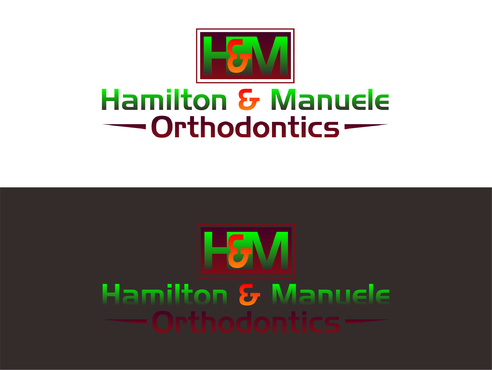 Hamilton & Manuele Orthodontics A Logo, Monogram, or Icon  Draft # 559 by Kenzie15
