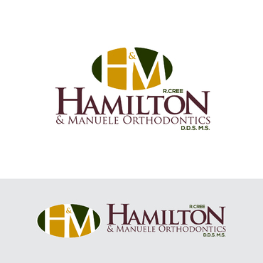 Hamilton & Manuele Orthodontics A Logo, Monogram, or Icon  Draft # 562 by Abdul700