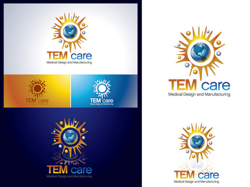 TEMcare Medical Design and Manufacturing  A Logo, Monogram, or Icon  Draft # 430 by TerryBogard