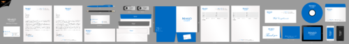mako GmbH Business Cards and Stationery Winning Design by einsanimation