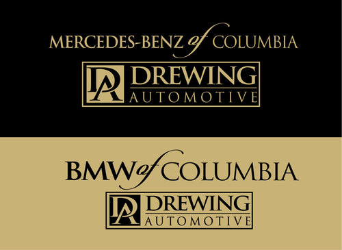 BMW of Columbia, Mercedes-Benz of Columbia, Drewing Automotive A Logo, Monogram, or Icon  Draft # 70 by DN123