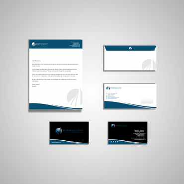 Blockweather Holdings, LLC Business Cards and Stationery  Draft # 181 by G234TD4Y