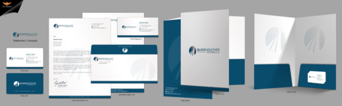 Blockweather Holdings, LLC Business Cards and Stationery  Draft # 289 by einsanimation