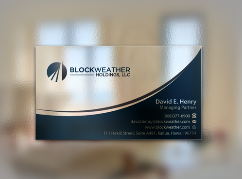 Blockweather Holdings, LLC