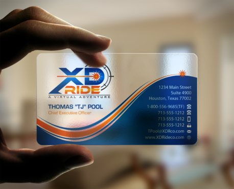 XD Ride Co. Business Cards and Stationery Winning Design by einsanimation