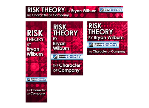 Risk Theory Email Ad Static/Animated Display Ads  Draft # 8 by DesignProtocol