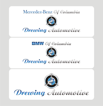 BMW of Columbia, Mercedes-Benz of Columbia, Drewing Automotive A Logo, Monogram, or Icon  Draft # 825 by Kenzie15