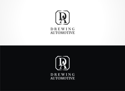 BMW of Columbia, Mercedes-Benz of Columbia, Drewing Automotive A Logo, Monogram, or Icon  Draft # 842 by vintzd