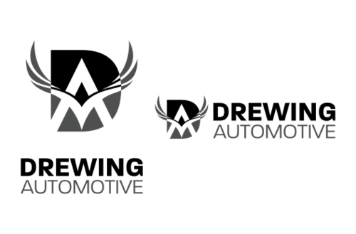 BMW of Columbia, Mercedes-Benz of Columbia, Drewing Automotive A Logo, Monogram, or Icon  Draft # 878 by alphaStellars