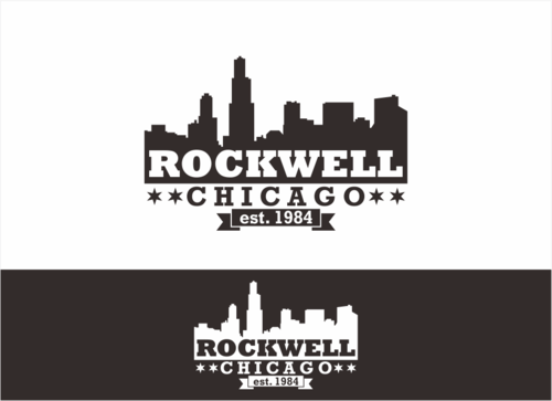 the words Rockwell, Chicago and est. 1984 Other  Draft # 12 by dhira