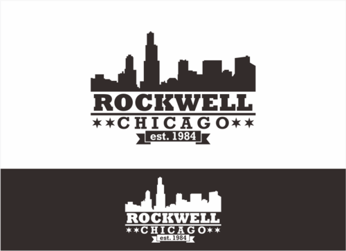 the words Rockwell, Chicago and est. 1984 Other  Draft # 13 by dhira
