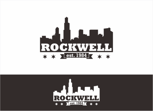 the words Rockwell, Chicago and est. 1984 Other  Draft # 14 by dhira