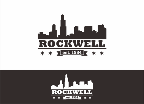 the words Rockwell, Chicago and est. 1984 Other  Draft # 15 by dhira